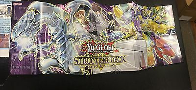 Paper Playmat ONLY NM - SDKS Seto Kaiba Structure Deck-Yu-Gi-Oh! Yugioh