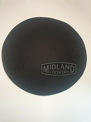 Genuine Aga Cooker Lid Covers /Chefs Pads /Lid Protector in Black And Cream