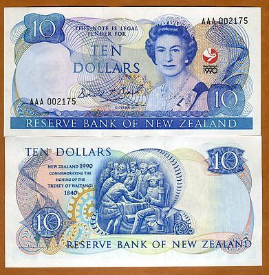 New Zealand, $10, 1990, P-176, UNC   Commemorative