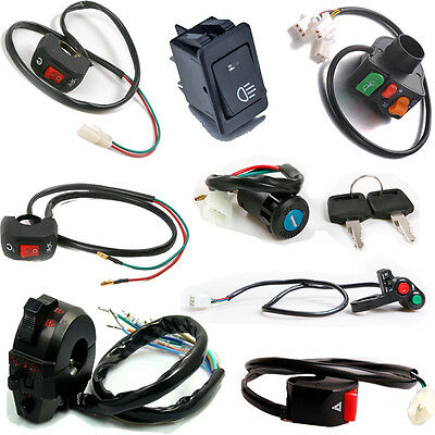 Car  Lights Horn Turn Signal Switch for Motorcycle ATVs Scooter Dirt Bike