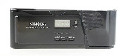Minolta Program Back 90 Data Back Data-Back Datenrückwand für AF 9000