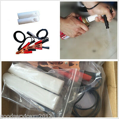 Portable DIY Car Van Off-Road Fuel Injector Flush Cleaner Adapter Kit Universal