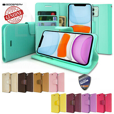 GOOSPERY® Slim Flip Leather Wallet Case Cover for iPhone / Galaxy S / Note / LG