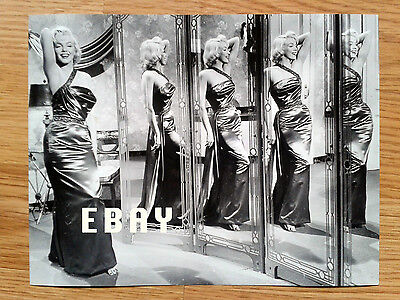 MARILYN MONROE vintage fashion glamour photo HOW TO MARRY A MILLIONAIRE 1953
