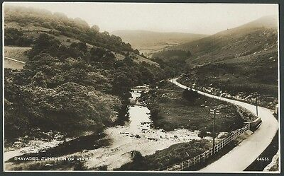 Rhayader Powys Junction Of Rivers c1930s Photochrom Real Photo Postcard