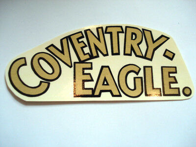 Coventry Eagle Lettering Decal Decal