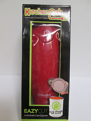KitchenPalz Eazy Cut Automatic Can Opener, Red [EH-A-K]