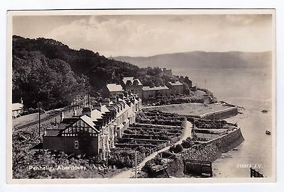P2905 Original old RP postcard of Penhelig, Aberdovey