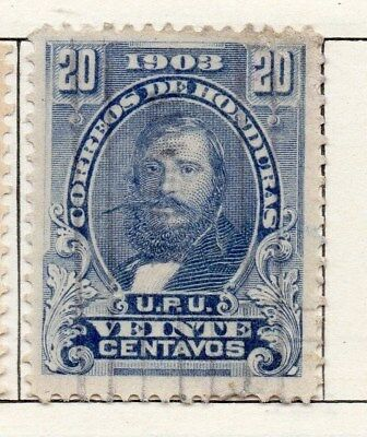 Honduras 1903 Early Issue Fine Used 20c. 098810