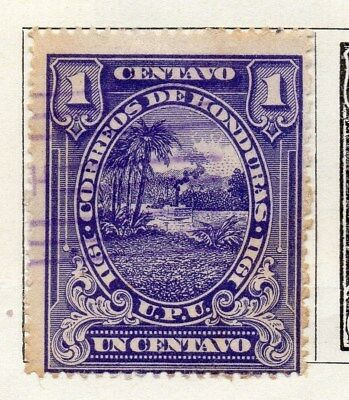 Honduras 1911 Early Issue Fine Used 1c. 098822