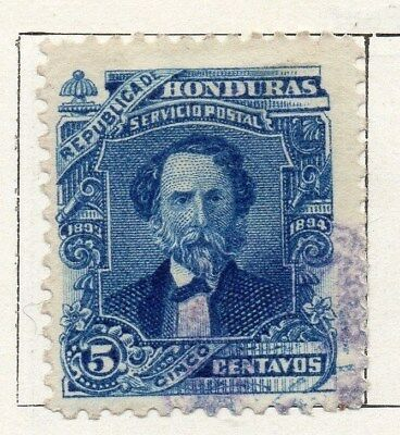 Honduras 1893 Early Issue Fine Used 5c. 098836