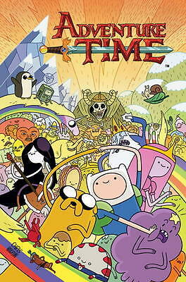 Adventure Time vol 1, Mike Holmes, Braden Lamb, Ryan North, New
