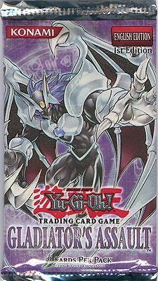 Yugioh Gladiator's Assault 20 Ct Blister Box