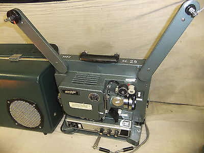 Cine film projector EIKI  ELF ST/M ST-1H 16MM + SOUND speaker