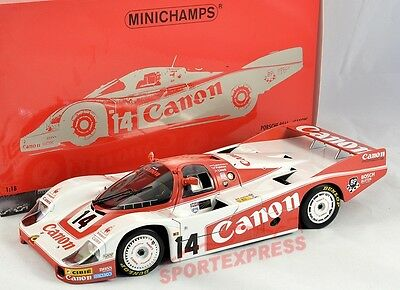 NEW 1/18 Minichamps Porsche 956, 24hrs LeMans 1983 #14