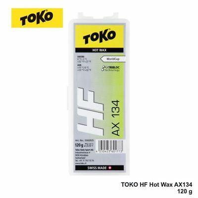 Original TOKO HF Hot Wax AX134,  0° bis -3° C, 120 g, NEU !