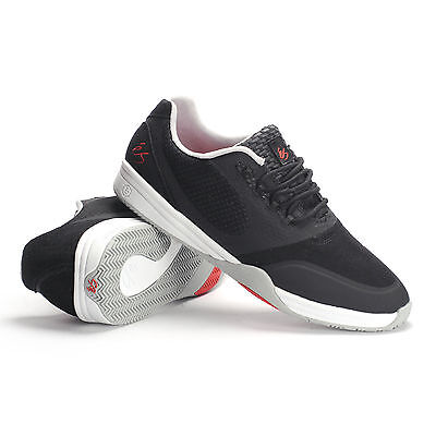 ES Sesla Black/Grey/Red Men's Skate Skateboard Shoes