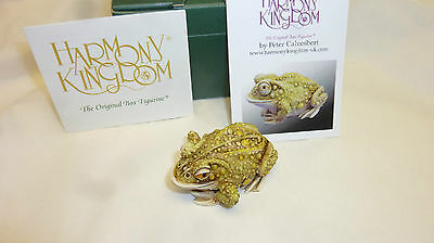 Harmony kingdom THOUGHTFUL PRINCE 2016 SIGNED  CTJFR27 FROG