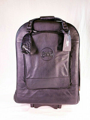Gard 14-WBFLK Leather Triple Trumpet Wheelie Gig Bag BRAND NEW
