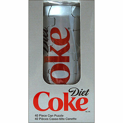 3D Diet Coke Can 40 Piece Puzzle