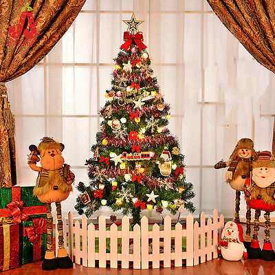 1.5m Christmas tree with decoration colorful lights ornament Artificial Q013 new