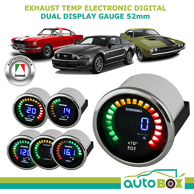 52mm Electronic Digital Exhaust Temp Gauge by Autotecnica EGT Pyro