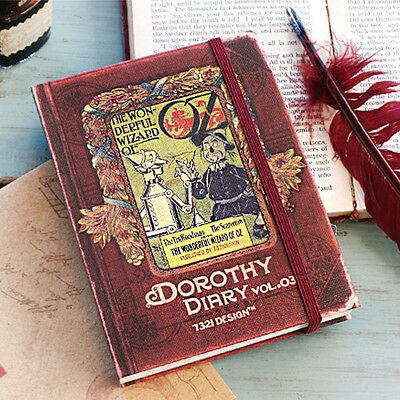 Vintage Style Dorothy Undated Planner Diary Journal Scheduler Organizer Sticker