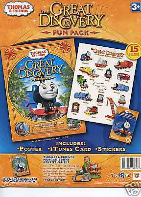 Thomas The Train --The Great Discovery Fun Pack