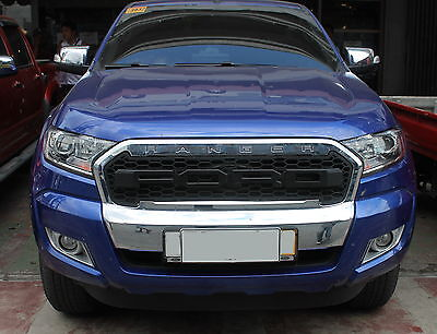 Ford Ranger 2016 + Front Grille Mesh Raptor Appearance External Styled