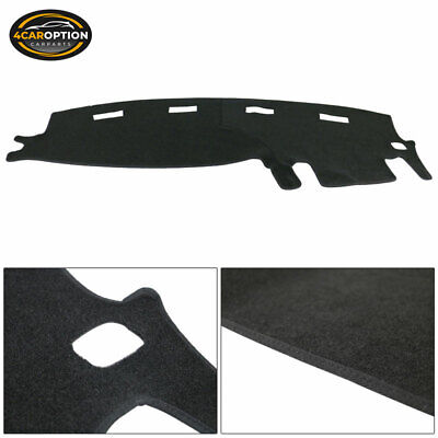 Fits 98-01 Dodge Ram 1500 2500 3500 Dashboard Dash Mat Cover Guard - Black Nylon