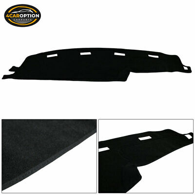 Fits 94-97 Dodge Ram 1500 2500 3500 Dashboard Dash Mat Cover Guard - Black Nylon