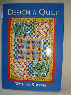 Booklet Old Time  - Design a Quilt   -   43 Pressure Sensitive Designs
