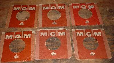 original 1 x MGM BROWN RECORDS company sleeve  .