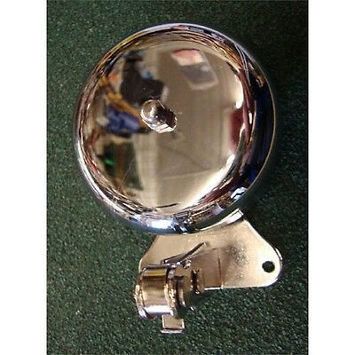 Chrome Traditional Shop Door Bell - Rollins Door Electrical Accessories
