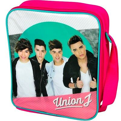 Union J Lunch Bag - Official Licensed Pink Rectangle School Sandwich Box Gift