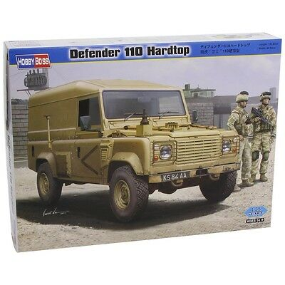 1:35 Defender 110 Hard Top Tank - Hobbyboss Plastic Model Kit Miniature Military
