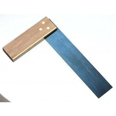 "12"" Beechwood Tri Square With Blue Steel Blade - Rst 12"" Measuring Tools Diy"