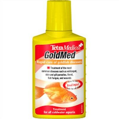 100ml Tetra Medica Gold Med Fish Treatment - Gold Gold Medication