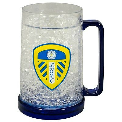 Leeds United F.c. Plastic Freezer Tankard - Football Fc Official Club Drinks