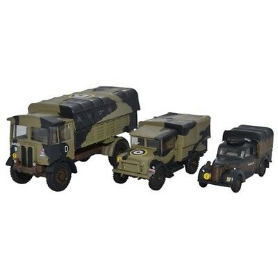 1:76 Oxford Diecast Italy 1943 Military Set - Model Trucks Collectable Gift