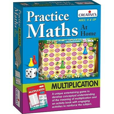 Practice Maths At Home Multiplication Educational Game - Creative Kids