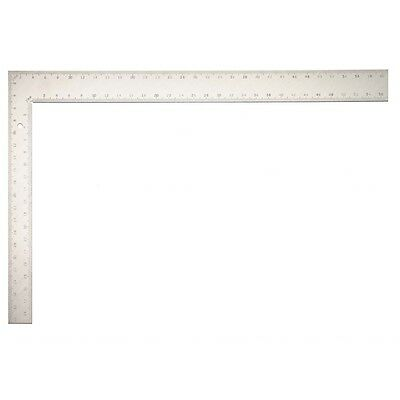 """16"""" x 24"""" Steel Framing Roofers Square - Fisher Squares Measuring Tools"""