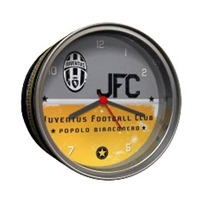 Juventus Table Clock In Tin - Official Football Alarm Club Bedroom Sporting Acc