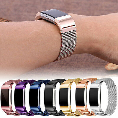 For Fitbit Charge 2! L/S Milanese Stainless Steel Bracelet Magnetic Watch Band