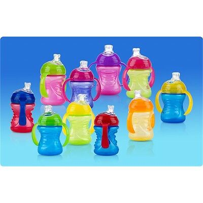 Nuby Simply Grip N Sip Assorted Colours - Cup Training Sippy Two Handles No
