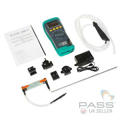 NEW Kane 100-1 Ambient CO and CO2 Analyser with Built in Memory Facility