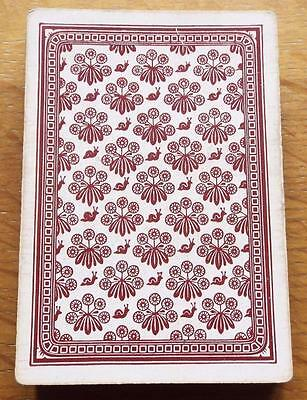 Antique Victorian Bezique Pack of Wide No Indices 1870 Playing Cards - Goodall