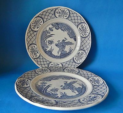 Two Furnivals Old Chelsea 7.5 Inch Plates