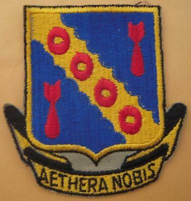1950s - 60s USAF Flight Jacket Patch 42nd Bomb Wing - US Air Force