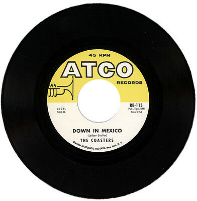"""The Coasters  """"down In Mexico""""  All Time R&b Classic    Listen!"""